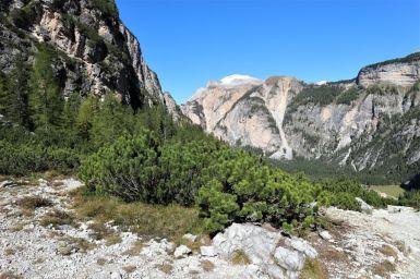 Aufstieg von Pederü zur Lavarella Hütte