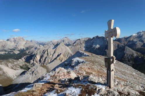 Am Gipfel der Antonius-Spitze