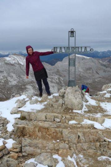 Lavarella Gipfel