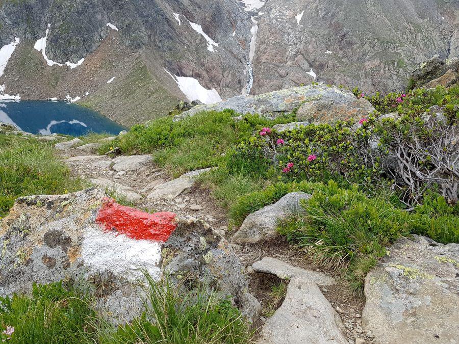 Bergsee im Stubaital
