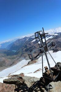 Das Gipfelkreuz der Zufallspitze