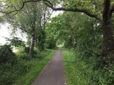 Fahrradtour auf dem alten Bahndamm nach Siek