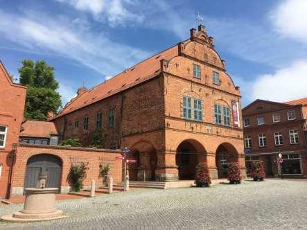 Marktplatz Gadebusch in Mecklenburg-Vorpommern