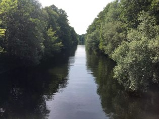 Am Aalemannkanal in Berlin