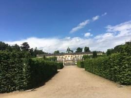 Blick zur Bildergallerie im Park Sanssouci