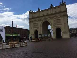 Das Brandenburger Tor in Potsdam