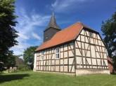 Die Fachwerkkirche in Fürstensee