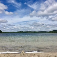 Kristallklares Wasser am Großen Fürstenseeer See