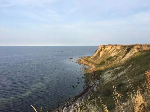 Steilküste an der Ostsee bei Boltenhagen