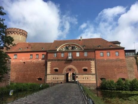 Vor der Zitadelle in Berlin-Spandau