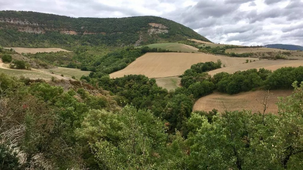 Die Gegend rund um Compeyre & Millau