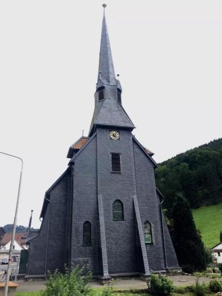 Die Kirche in Sieber
