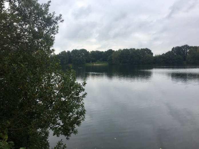 Fahrradtour in Hamburg - Blick auf den Hummelsee