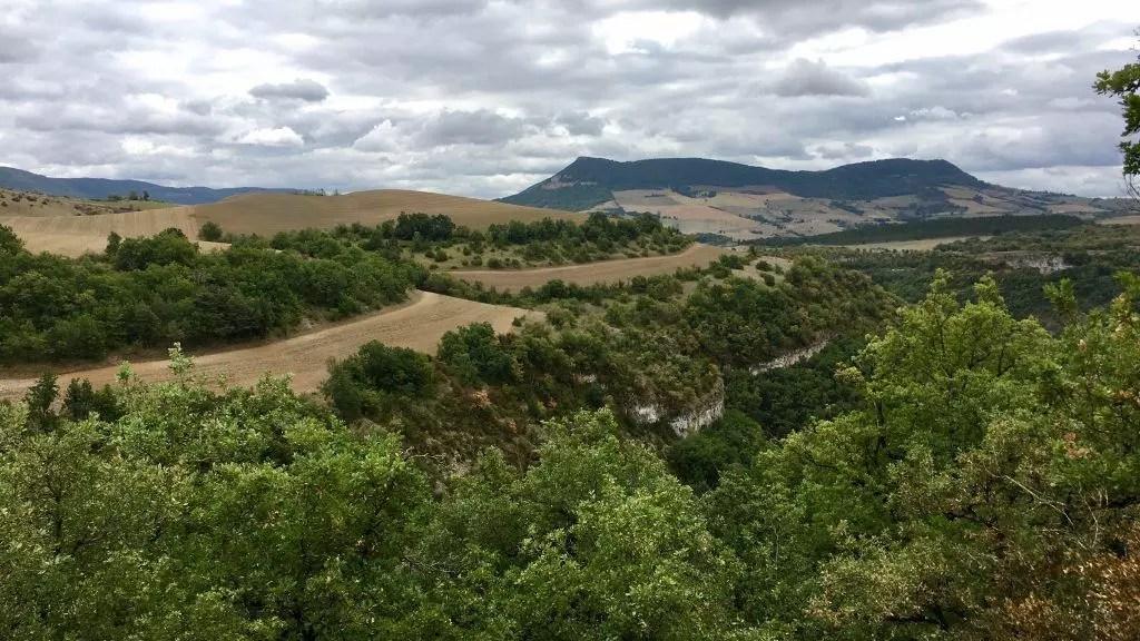 Panorama rund um Millau