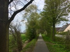 Auf dem Radwanderweg Glinde-Trittau - Große Fahrrad-Rundtour in Hamburgs Osten