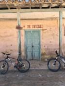 Auf einer Mountainbiketour in Kolumbien