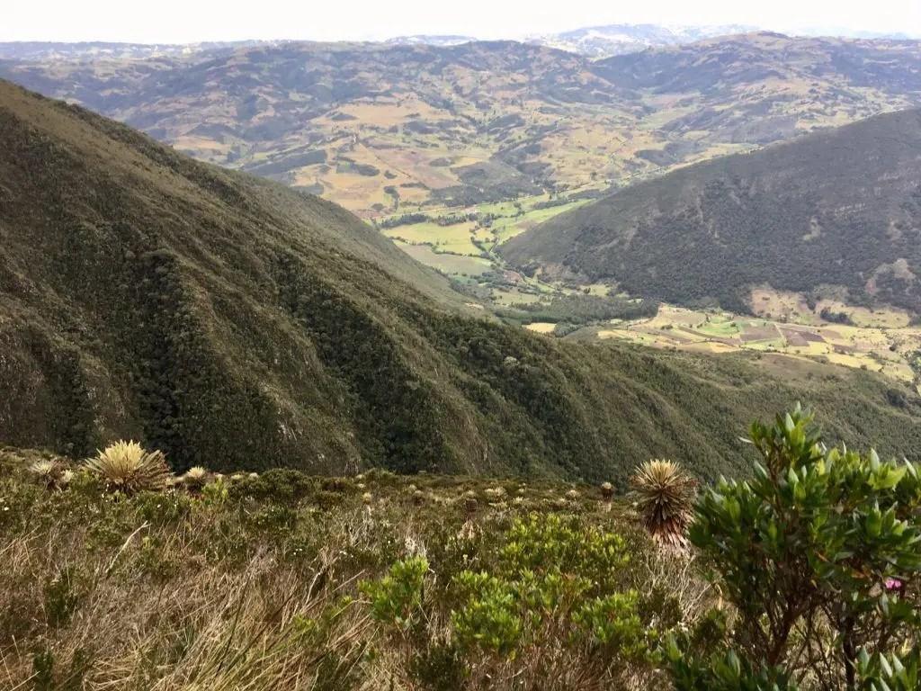 Blick über die umliegende Landschaft