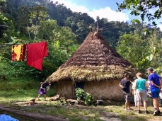 Haus der Tairona-Indianer