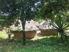 Indigenes Dorf der Tairona-Indianer