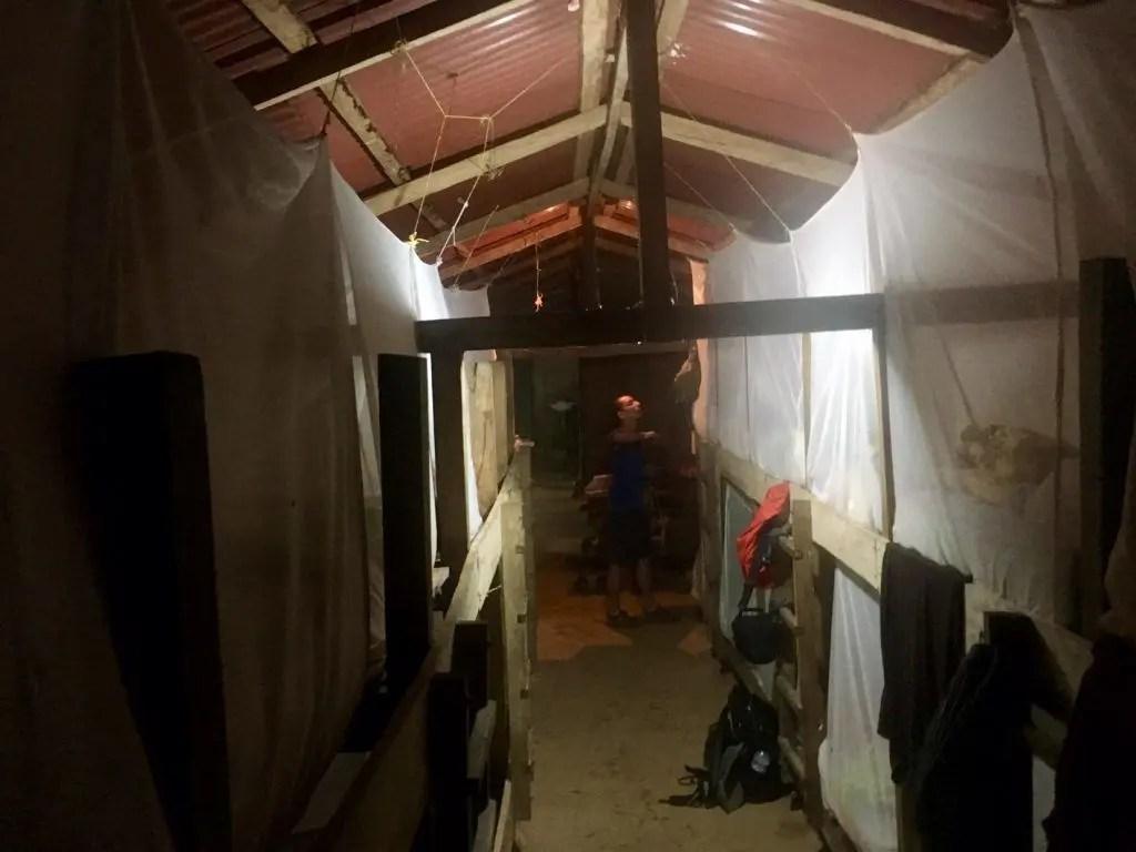"""Unser Matratzenlager im ersten Camp """"Cabana Adán"""""""