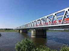 Eisenbahnbrücke über die Elbe bei Wittenberge