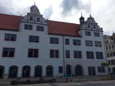 Rathaus am Marktplatz von Torgau