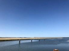 Blick von der Darß-Brücke