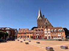Der Marktplatz von Barth