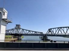 Die Meiningenbrücke zwischen dem Festland und dem Darß