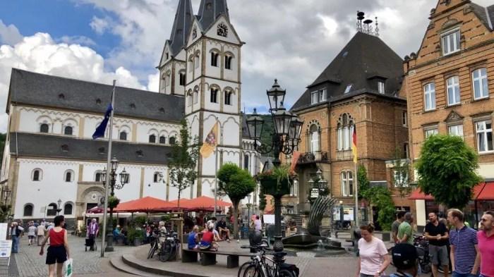 Marktplatz in Boppard am Rhein