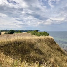 Blick über die Küstenlandschaft am Hochufer bei Boltenhagen