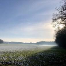 Winterlandschaft bei Schmalensee