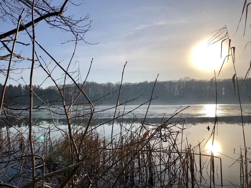 Wandern durch die Bornhöveder Seenkette in der Holsteinischen Schweiz