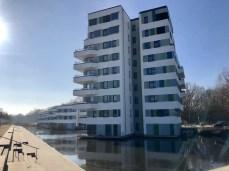Wohnhaus auf dem IBA-Gelände in Hamburg Wilhelmsburg
