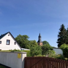 Kirchturm in Kröslin