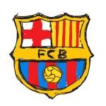 تعلم رسم علم فريق برشلونة - تعلم الرسم