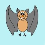 تعلم رسم خفاش خطوة بخطوة