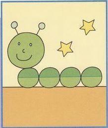 تعليم الأطفال رسم دودة