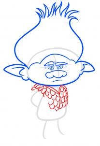 رسم شخصية برانش