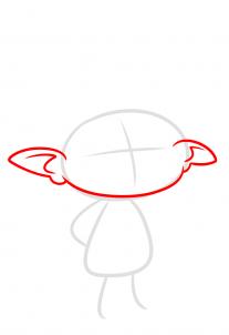 خطوات رسم شخصية برانش