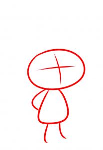 كيف ارسم شخصية برانش