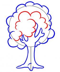 تعليم رسم الشجرة