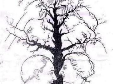 اختبار ذكاء كم وجه في الصورة