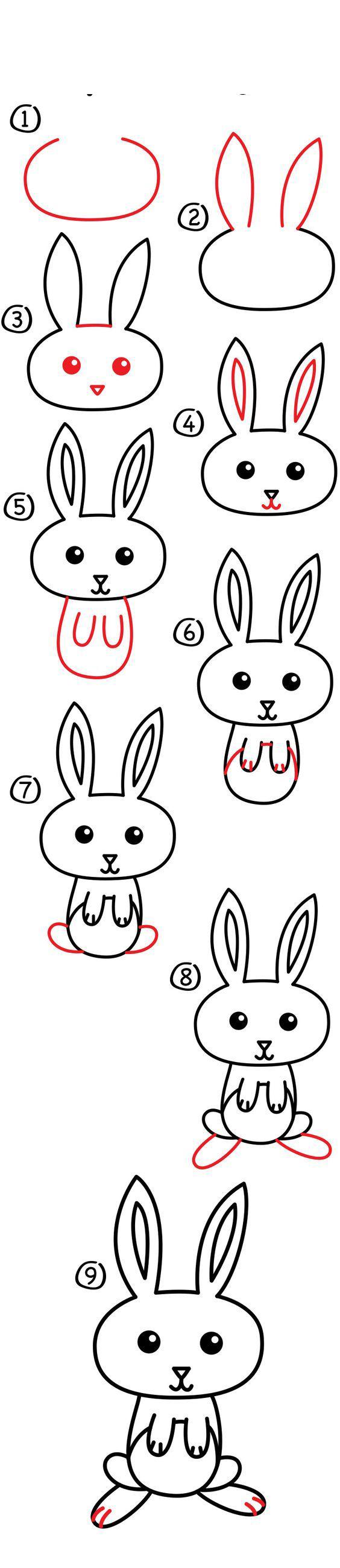 رسم أرنب