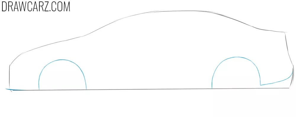 How to Draw a Toyota Corolla