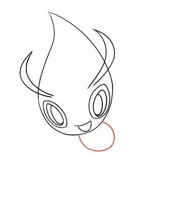 How To Draw Celebi Step 4