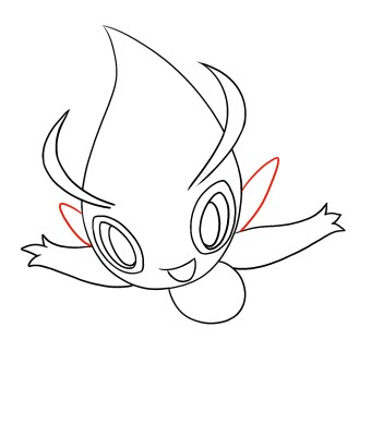 How To Draw Celebi Step 6