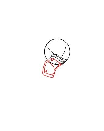 How To Draw Gyarados Step 3