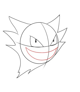 How To Draw Haunter Step 4