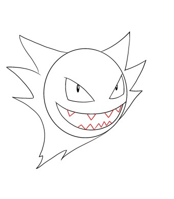How To Draw Haunter Step 5